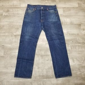 Levi's 501 jeans button fly size 36 waist.